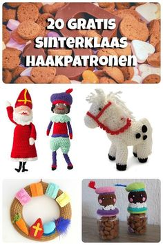 De 20 leukste én GRATIS Sinterklaas haakpatronen   Haakpatroon   Sint krans   haken   gratis patroon   https://yoo.rs/tante.koek/blog/de-20-leukste-n-gratis-sinterklaas-haakpatronen-1509720088.html?Ysid=54411