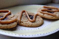 Gluten Free PB & J Cookies