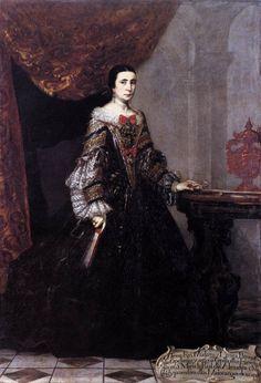 1690 Claudio Coello - Portrait of Teresa Francisca Mudarra y Herrera