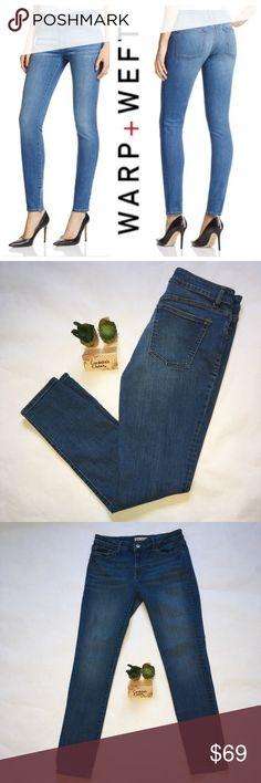 Warp + Weft JFK New York City Skinny Jeans 29 / 29