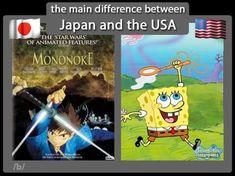 Anime Vs Cartoon, Anime Rules, Comic Books, Animation, War, Japan, Comics, Memes, Google Search