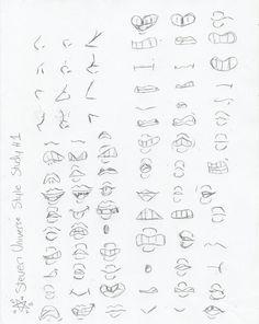 SKETCH DUMP: Steven Universe Style Study #1 by InvaderIka.deviantart.com on @DeviantArt