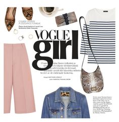 """vogue girl"" by punnky ❤ liked on Polyvore featuring J.Crew, Acne Studios, RED Valentino and Iosselliani"