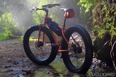 Motorized fat tire Bicycle Builds | Image from www.fat-bike.com)