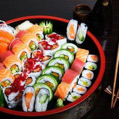 Muito bom.... cozinha oriental... adoro  !!