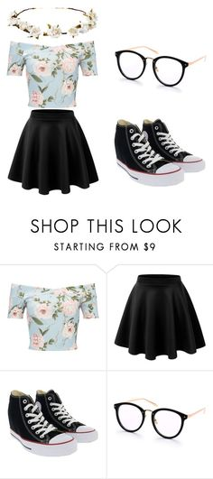 """Summer"" by hjeanb on Polyvore featuring Miss Selfridge, Converse and Cult Gaia"