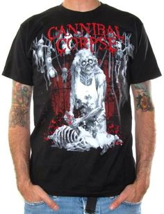 Cannibal Corpse, T-Shirt, Torture Bodies