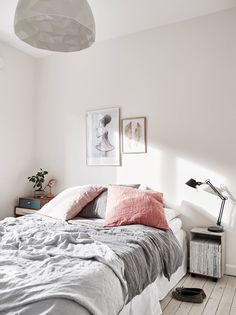 Dreamy bedroom and vintage elements - via cocolapinedesign.com
