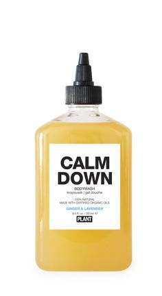 New Mom Gift Guide: PLANT Apothecary Calm Down Bodywash, a soothing body wash for a luxurious pamper day