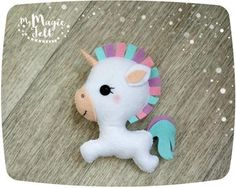 This item is MADE TO ORDER, production time 2-3 weeks This is a very cute little unicorn made of felt. You can use this ornament to embellish your Christmas tree or Easter tree, for decoration of your home or a childs room, and just as a wonderful gift.  ● Dimensions - about 4 inch height ● Made of high quality eco-friendly polyester felt ● Delicately filled with polyester fiber filler ● 100% handmade (hand-cut and hand-sewing)  ❄❄❄ Please note ❄❄❄  ● Colors may vary slightly from those…