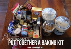 It's officially baking season! Be prepared and eliminate last minute grocery store runs.