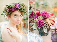 Fall Bohemian Wedding Inspiration | Green Wedding Shoes Wedding Blog | Wedding Trends for Stylish + Creative Brides