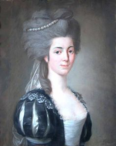 1780 Leonor de Almeida Portugal, Marquesa de Alorna by Pitschmann first name unknown (private collection) | Grand Ladies | gogm