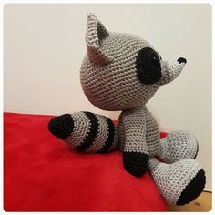 Eserehtanin: The Silent Raccoon, #crochet, free pattern, stuffed toy, #haken, gratis patroon (Engels), knuffel, speelgoed, #haakpatroon