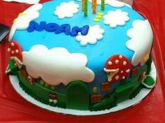 Found a Mario cake and it happens to have my name on it!!!
