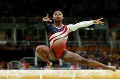 Simone Biles led the Americans to Olympic team gold.  RIO DE JANEIRO — In what could be best described as a coronation rather than a competition, the remarkable Simone Biles led the United States to its second consecutive gold in team women's gymnastics on Tuesday by a record margin of 8.209 points.