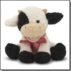 MELISSA&DOUG Meadow Calf - Une adorable petite vache sonore (mais pas trop!)- Dès la naissance
