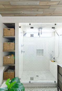 18 Organized Bathrooms That Are Serious #Goals via Brit + Co