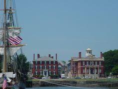 Salem, MA : Salem Massachusetts Waterfront - Custom House