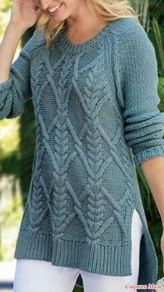 Easy Knitting Patterns for Beginners - How to Get Started Quickly? Sweater Knitting Patterns, Knitting Designs, Knit Patterns, Hand Knitting, Fall Outfits, Knitwear, Knit Crochet, Sweaters For Women, Models