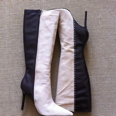I just discovered this while shopping on Poshmark: ^^HOST PICK 9/28^^ Colin Stuart Suede Knee Boots. Check it out! Price: $200 Size: 9, listed by zcoe