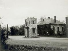 Entrance to Jefferson Barracks [Park]. 533 Grant Road. | collections.mohistory.org