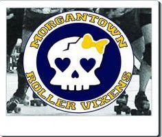 Morgantown Roller Vixens Derby Girls!