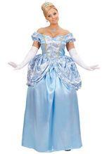 Prinzessin Damenkostüm Königin hellblau-weiss aus unserer Kategorie Märchenkostüme. Eine Märchen-Prinzessin, wie man sie sonst nur aus dem Film kennt! Dieses Faschingskostüm für Damen verzaubert einfach jeden!