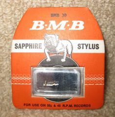 BMB30 STYLUS FOR GARRARD GC8 CARTRIDGE AS USED IN BUSH 210 GARRARD 210