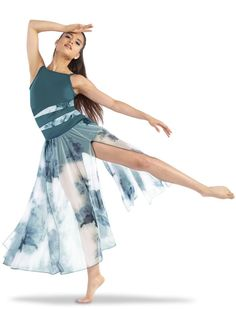 Lycra bodice and boy cut shorts with custom printed lycra insets has a matching printed four panel mesh skirt. Dance Costumes Ballet, Modern Dance Costume, Cute Dance Costumes, Contemporary Dance Costumes, Cabaret Costumes, Royal Ballet, Dance Outfits, Dance Dresses, Party Dresses