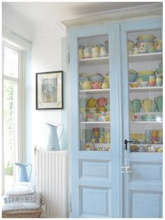 Shabby Pastel collection- oh my gosh this looks like all of my Lu Ray dishes- I have 1200 in my collection.