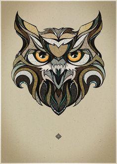 Мобильный LiveInternet Графика. Совушка-сова. Owl Zentangle Doodle. | Decor_Rospis - Intra Bonus, Exi Melio. Войди хорошим, выйди лучшим |