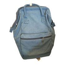 Binmer(TM) Unisex Fashion Denim Travel Backpack Bags School bag Rucksack Casual (Light Blue) ** You can get more details here : Travel Skincare
