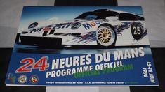OFFICIAL LE MANS 24 HOURS 1996 RACE PROGRAMME TWR PORSCHE WSC95 911 GT1 MCLAREN