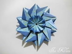 Diagramas & Cia.: Presente de Páscoa! Origami Stars, Origami Flowers, Arts And Crafts, Paper Crafts, Christmas Origami, Snowflakes, Decorative Bowls, Balloons, Projects To Try