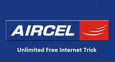 Aircel Unlimited Free Internet Trick april may 2017, aircel 3g free internet trick with unlimited downloading support may june 2017, Aircel free data
