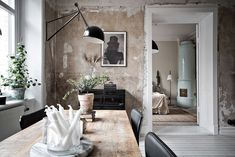 Le charme des murs bruts