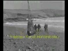 The Torrey Canyon oil tanker runs aground off the Cornwall coast in 1967.