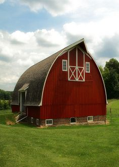 Nice Picture Of Country Red Barn