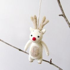 Christmas ornament: FUZZ Reindeer