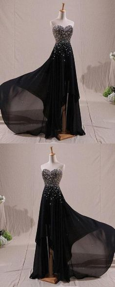 Prom Dress Long, Prom Dress A-Line #PromDressLong #PromDressALine Prom Dresses Long Prom Dresses Two Piece, Pretty Prom Dresses, Unique Prom Dresses, Evening Dresses, Evening Gowns Dresses, Nice Prom Dresses, Robes De Soiree, Evening Gowns