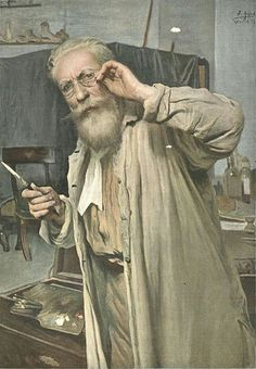 José Jiménez aranda autorretrato