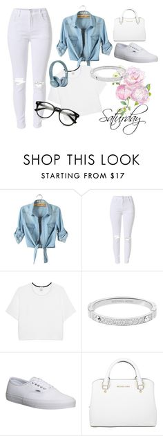 """""""Saturday style"""" by bellaslife23 on Polyvore featuring Pinko, Michael Kors and Vans"""