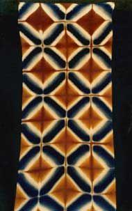 Shibori Fabric, Shibori Tie Dye, Fabric Art, Fabric Crafts, Japanese Textiles, Japanese Fabric, Textile Patterns, Textile Prints, Tie Dye Crafts