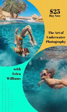 The Art of Underwater Photography with Erica Williams Gopro Underwater, Underwater Images, Underwater Photography, Photography Lessons, Photography Courses, Photography Tutorials, Online Photography Course, Summer Shots, Documentary Photographers
