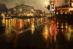 Un peintre transpose New York et San Francisco dans son univers onirique   Daily Geek Show