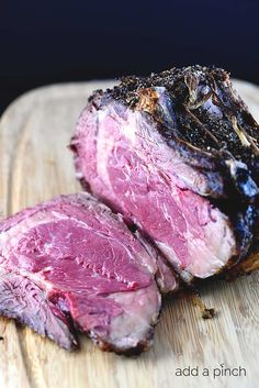 This prime rib recipe results in the perfect prime rib every time. Perfect for the holidays or special occasions. With step by step tips!