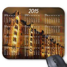 Kalender 2015 Mousepad Hamburg