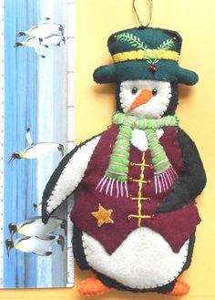 Papa Penguin Ornament
