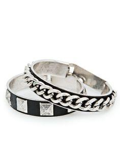 Lot de bracelets rock